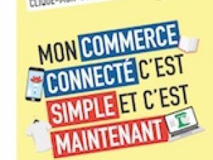 Affiche Mon commerce connecté